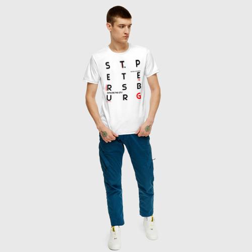 Мужская футболка хлопок Санкт-Петербург Explore Фото 01
