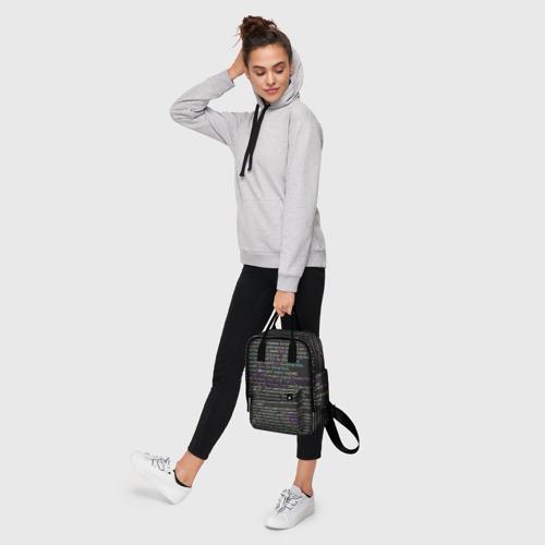 Женский рюкзак 3D PHP CODE Фото 01