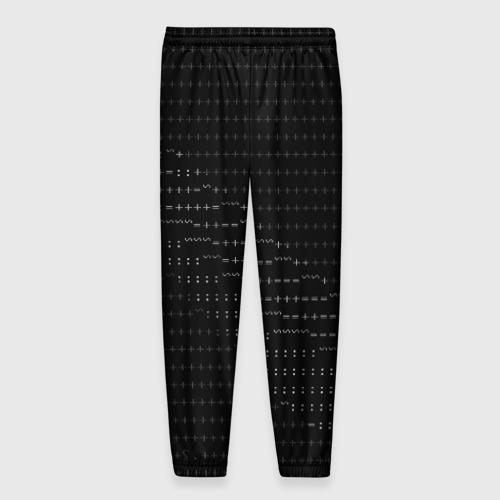 Мужские брюки 3D СИМВОЛЬНЫЙ КОД Фото 01