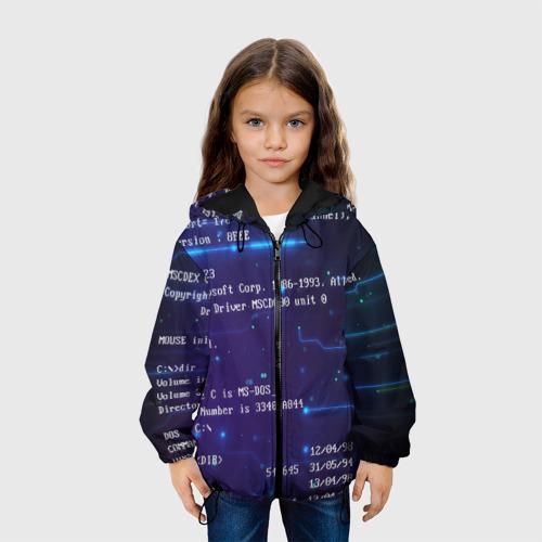 Детская куртка 3D BIOS CODE Фото 01