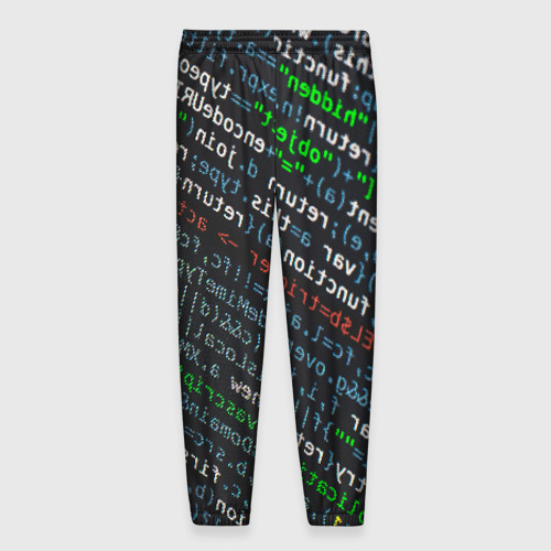 Мужские брюки 3D ПРОГРАММИРОВАНИЕ КОДА Фото 01