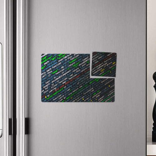 Магнитный плакат 3Х2 ПРОГРАММИРОВАНИЕ КОДА Фото 01