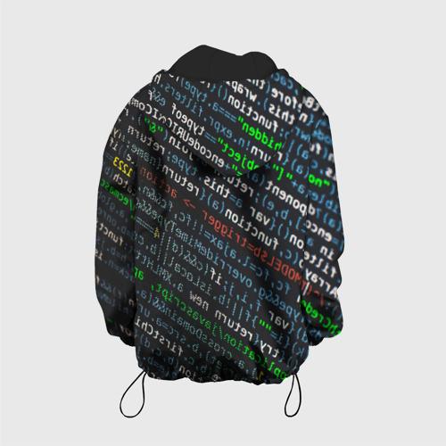 Детская куртка 3D ПРОГРАММИРОВАНИЕ КОДА Фото 01