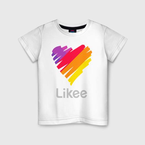 Детская футболка хлопок Likee Фото 01