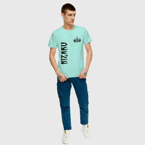 Мужская футболка хлопок KIZARU HAUNTED F. Фото 01