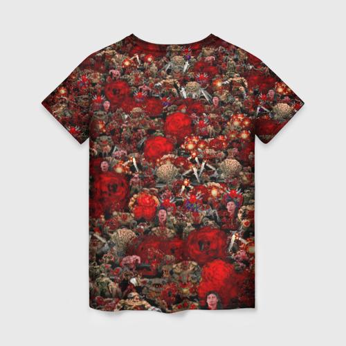 Женская футболка 3D Brutal DooM Фото 01