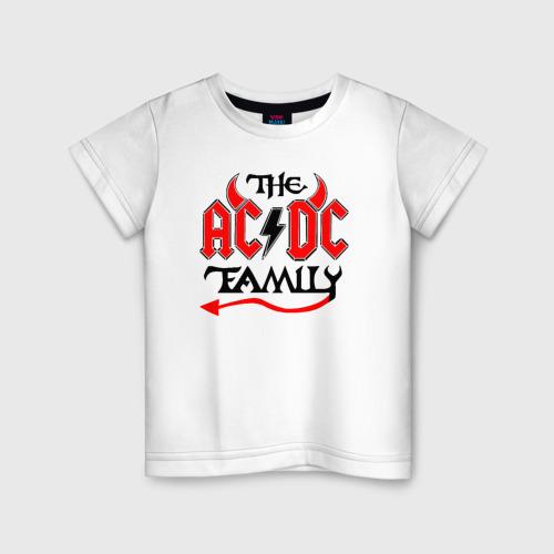 Детская футболка хлопок AC/DC XS фото