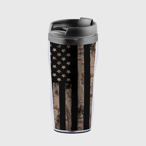 Термокружка-непроливайка American Flag Camo