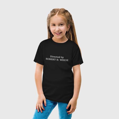 Детская футболка хлопок directed by robert b weide МЕМ Фото 01