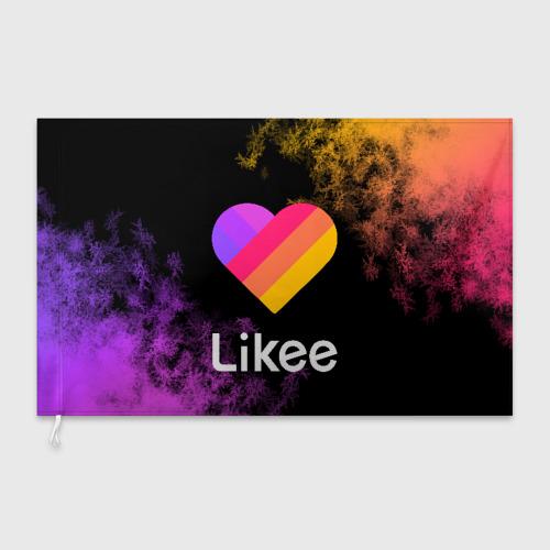Флаг 3D LIKEE (Like Video) Фото 01