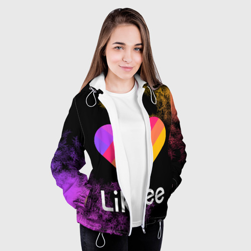 Женская куртка 3D LIKEE (Like Video) Фото 01