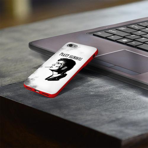 Чехол для Apple iPhone 8 силиконовый глянцевый Острые козырьки Фото 01