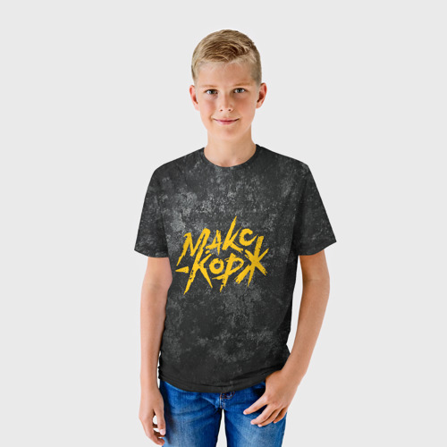 Детская футболка 3D МАКС КОРЖ Фото 01