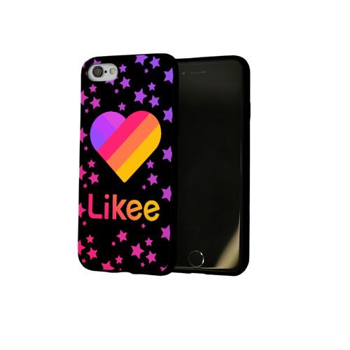 Чехол для Apple iPhone 7/8 soft-touch NEW LIKEE - Stars Фото 01