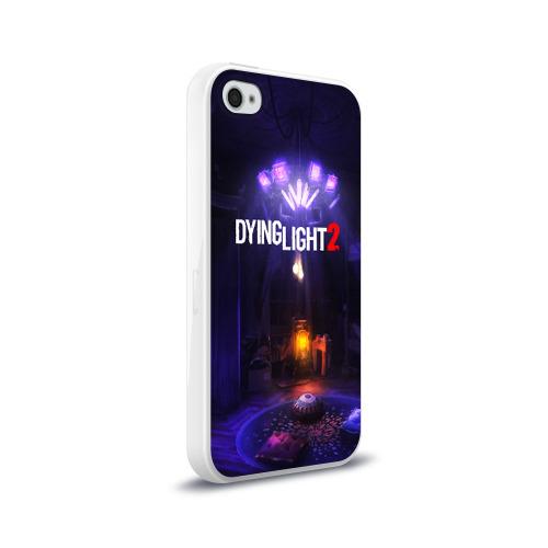 Чехол для Apple iPhone 4/4S силиконовый глянцевый DYING LIGHT 2 Фото 01