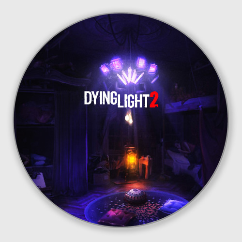 Коврик для мышки круглый DYING LIGHT 2 Фото 01