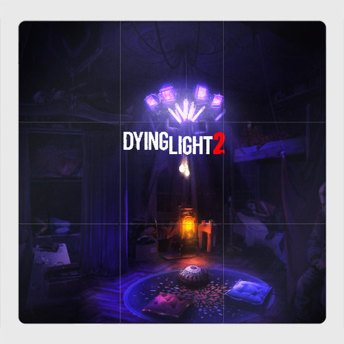 Магнитный плакат 3Х3 DYING LIGHT 2 Фото 01