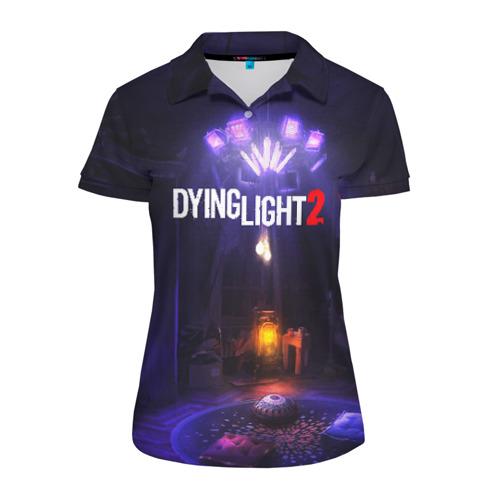 Женская рубашка поло 3D DYING LIGHT 2 Фото 01