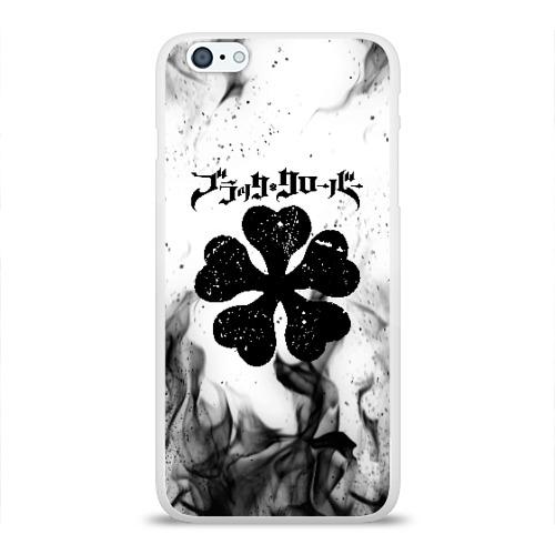 Чехол для Apple iPhone 6Plus/6SPlus силиконовый глянцевый ЧЁРНЫЙ КЛЕВЕР Фото 01