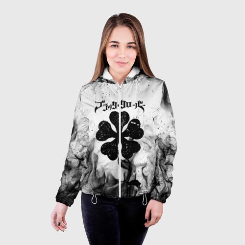 Женская куртка 3D ЧЁРНЫЙ КЛЕВЕР Фото 01