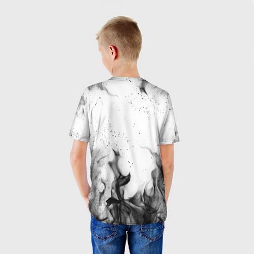 Детская футболка 3D ЧЁРНЫЙ КЛЕВЕР Фото 01