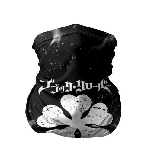 Бандана-труба 3D ЧЁРНЫЙ КЛЕВЕР Фото 01