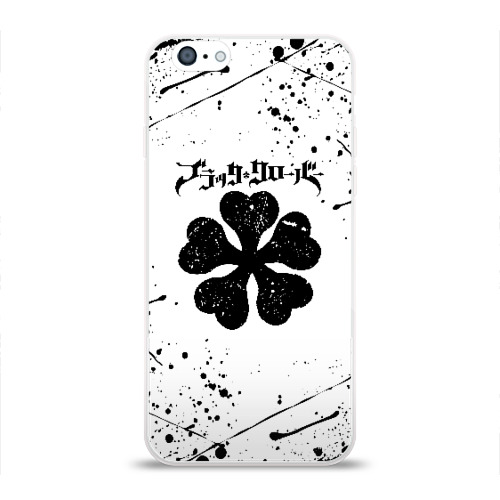 Чехол для Apple iPhone 6 силиконовый глянцевый ЧЁРНЫЙ КЛЕВЕР Фото 01