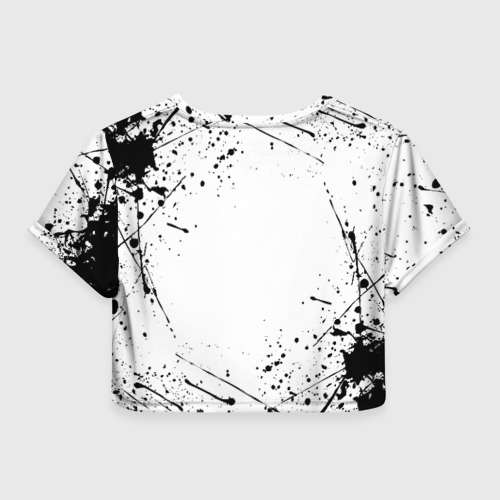 Женская футболка Cropp-top ЧЁРНЫЙ КЛЕВЕР Фото 01