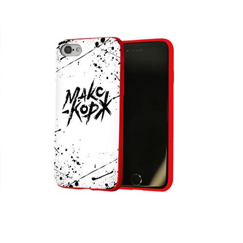Чехол для Apple iPhone 8 силиконовый глянцевый МАКС КОРЖ Фото 01
