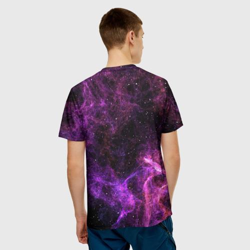 Мужская футболка 3D Темная Материя Фото 01