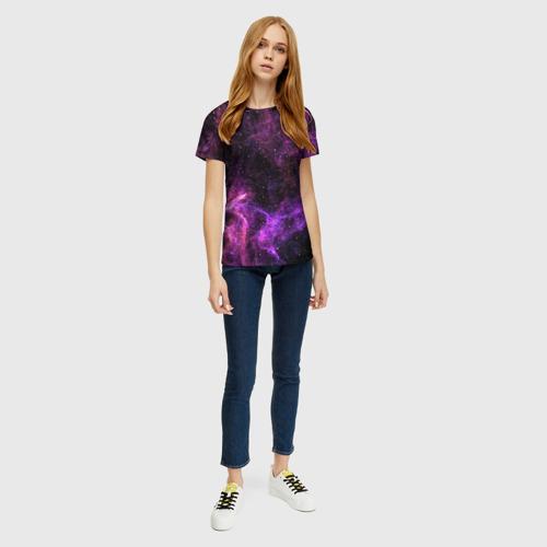 Женская футболка 3D Темная Материя Фото 01