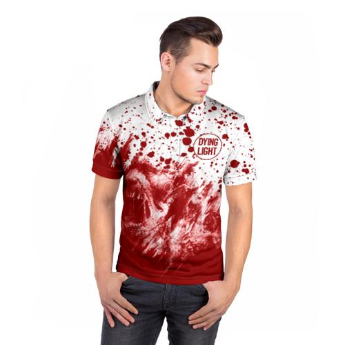 Мужская рубашка поло 3D Dying Light Фото 01