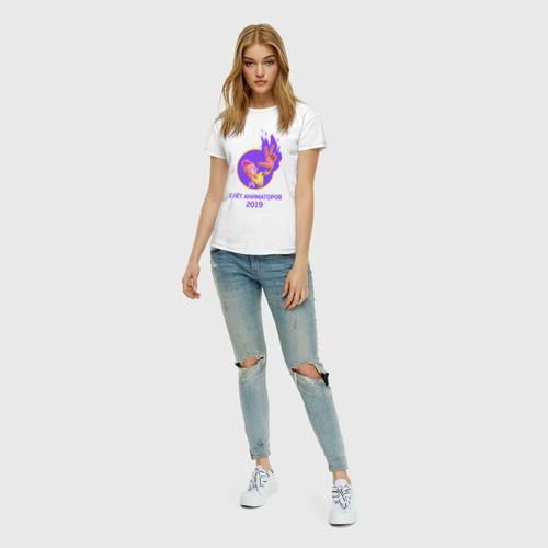 Женская футболка хлопок Слёт аниматоров 2019 Фото 01