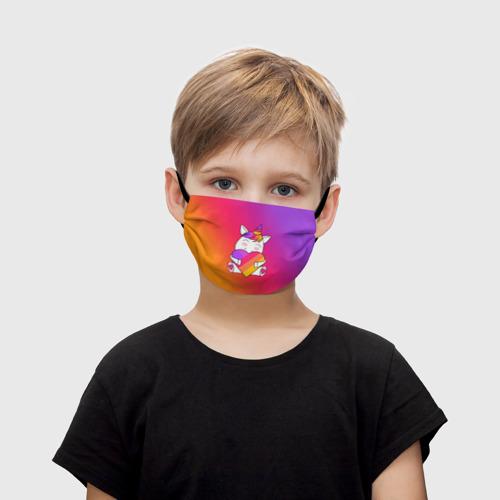 Детская маска (+5 фильтров) LIKEE - Единорог Фото 01