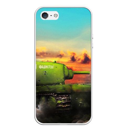Чехол для iPhone 5/5S матовый T34 Фото 01