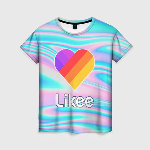 Женская футболка 3D LIKEE Фото 01