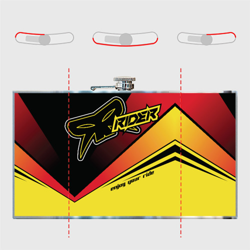 Фляга Форма для мотокросса FOX Фото 01