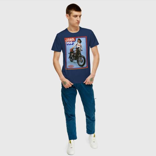 Мужская футболка хлопок Ява  Фото 01