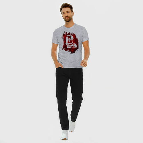 Мужская футболка хлопок Slim Геодезист  Фото 01