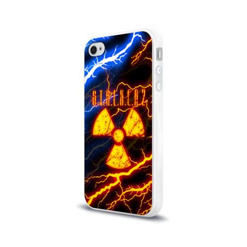 Чехол для Apple iPhone 4/4S силиконовый глянцевый S.T.A.L.K.E.R. 2 Фото 01