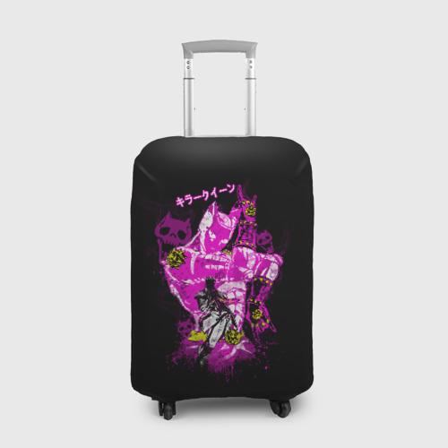 Чехол для чемодана 3D ПРИКЛЮЧЕНИЯ ДЖОДЖО (НА СПИНЕ) Фото 01
