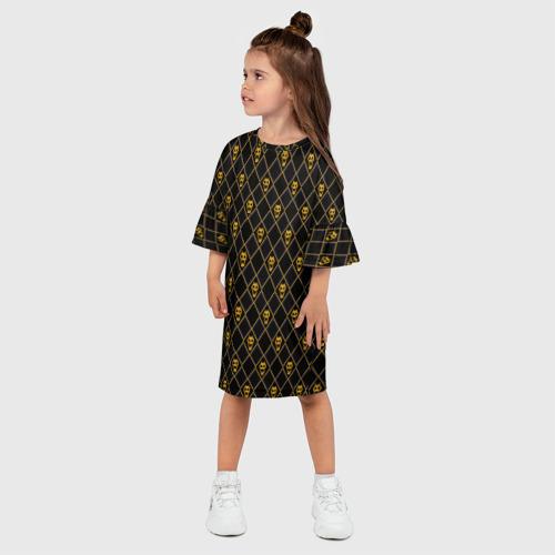 Детское платье 3D KILLER QUEEN SKULL Фото 01