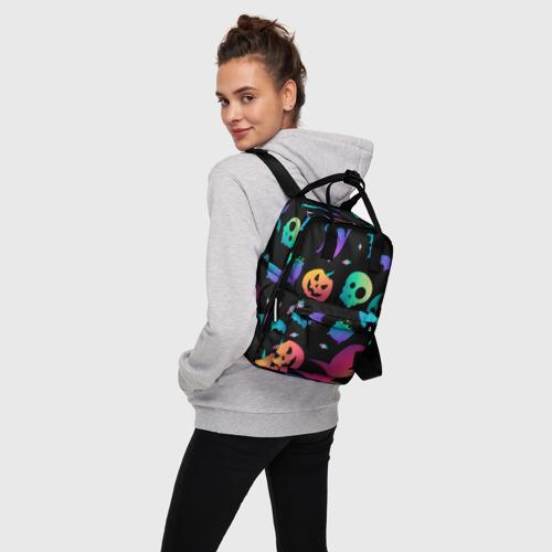 Женский рюкзак 3D Rainbow Halloween Фото 01