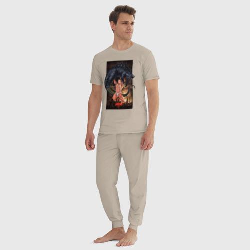 Billy ANIKI Aquarell (мужская пижама хлопок) фото 4