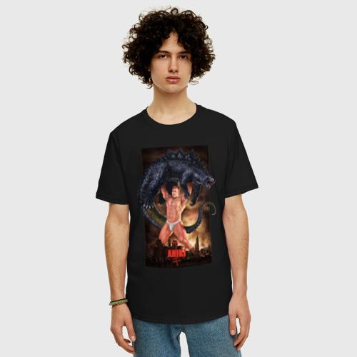 Мужская футболка хлопок Oversize Billy ANIKI Aquarell Фото 01
