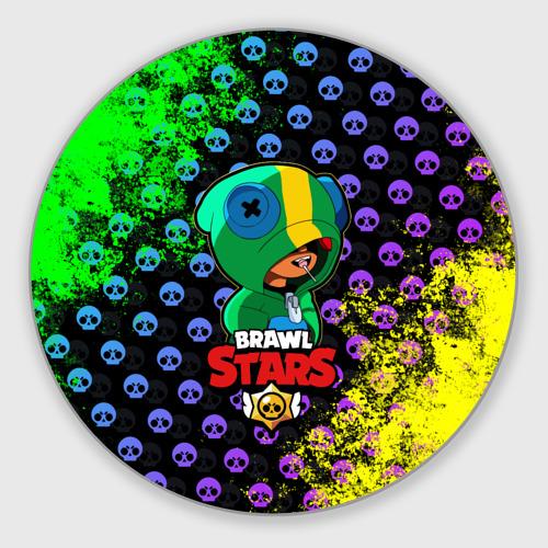Коврик для мышки круглый Brawl Stars LEON Фото 01
