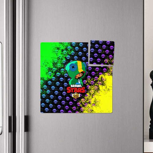 Магнитный плакат 3Х3 Brawl Stars LEON Фото 01