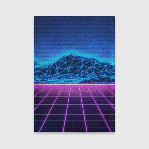 Обложка для автодокументов SYNTHWAVE / RETROWAVE Фото 01