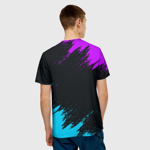 Мужская футболка 3D НЕОНОВЫЙ МАРШМЕЛЛО   MARSHMELLO NEON Фото 01