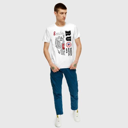 Мужская футболка хлопок Самбо Фото 01